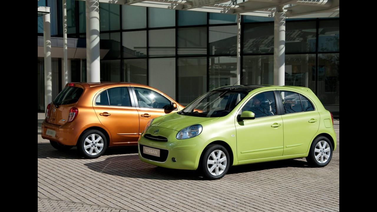Nissan inicia produção do March na Tailândia e confirma lançamento no Brasil em 2011