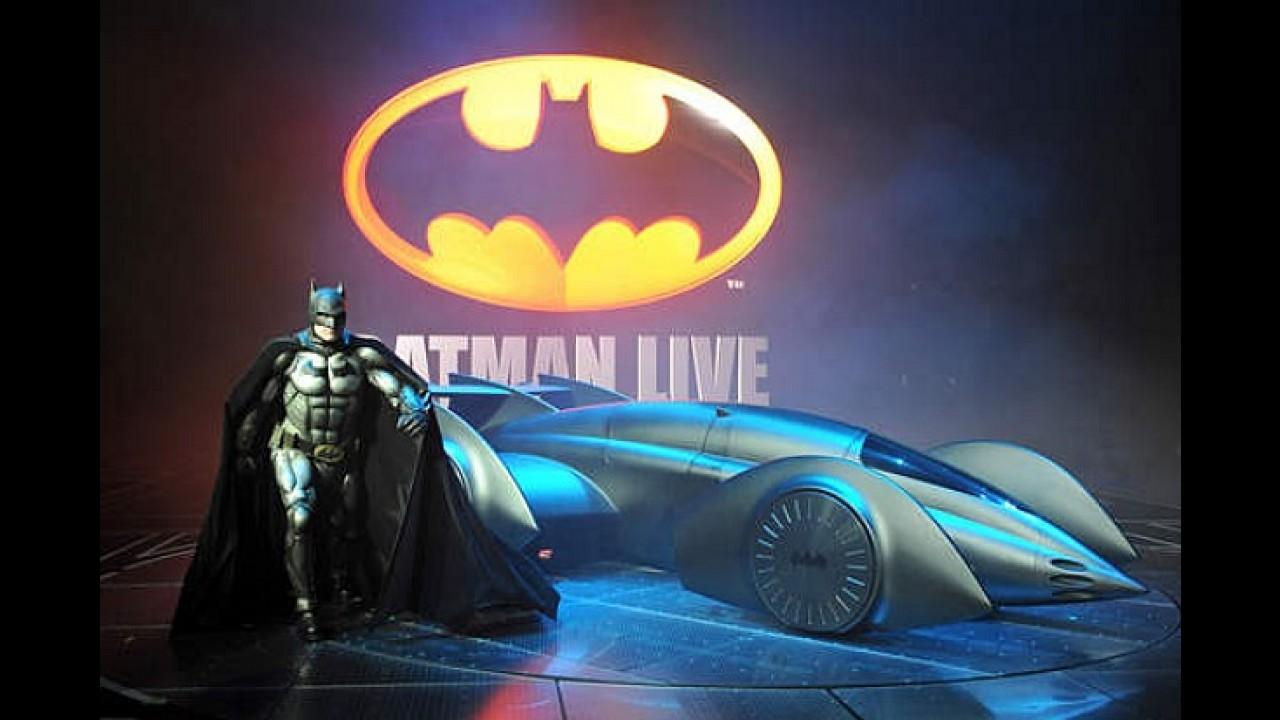 Eis o mais novo Batmóvel