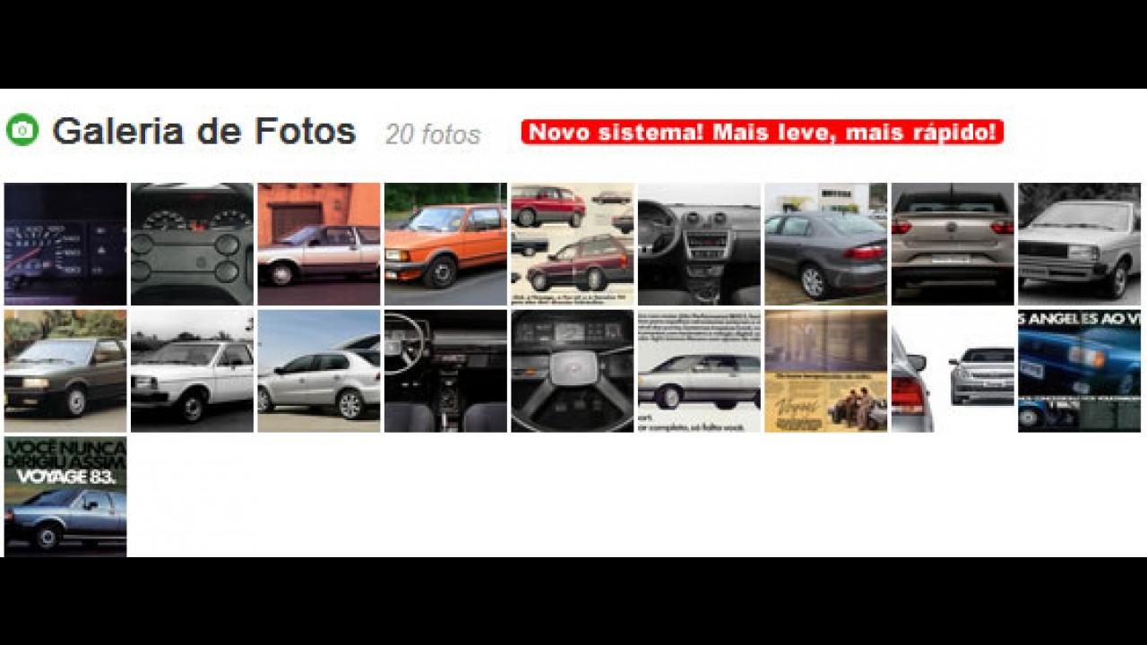 Carros para sempre: VW Voyage desde o começo da viagem