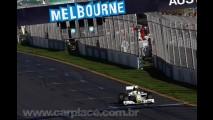 Fórmula 1: Button ganha e Barrichello fica em 2° no GP histórico de Melbourne