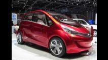 Tata Megapixel Concept é apresentado no Reino Unido - Consumo pode chegar a 120 km/l
