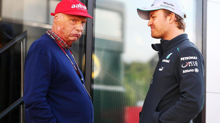 Sorry Lauda keeps opinion about Rosberg crash