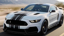 2016 Shelby GT350R Mustang rendering