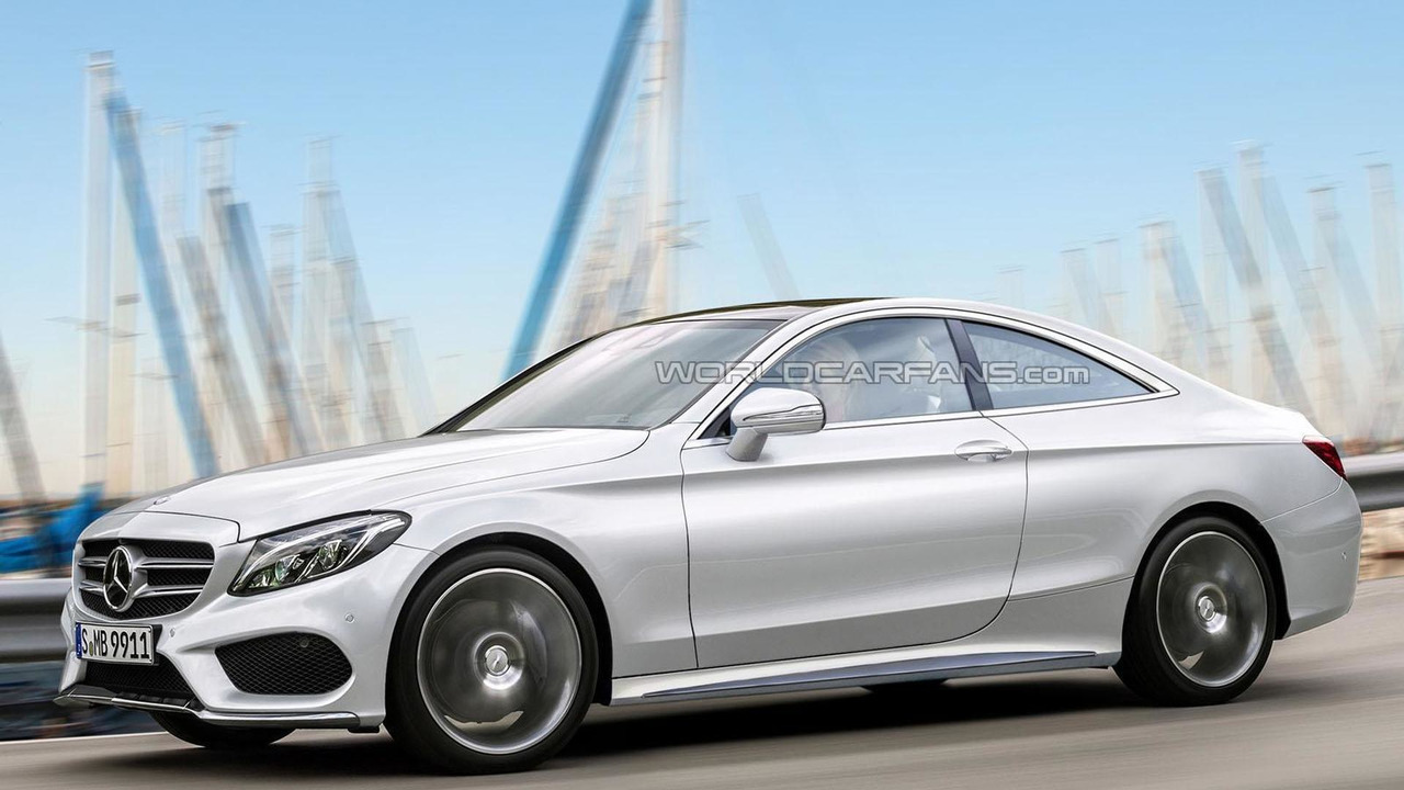 2016 Mercedes C-Class Coupe rendering