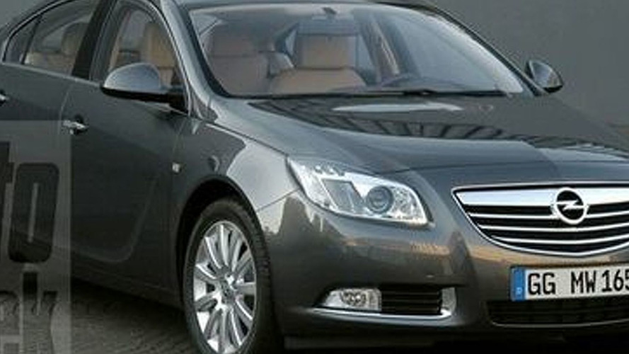 Vauxhall Insignia Leaked