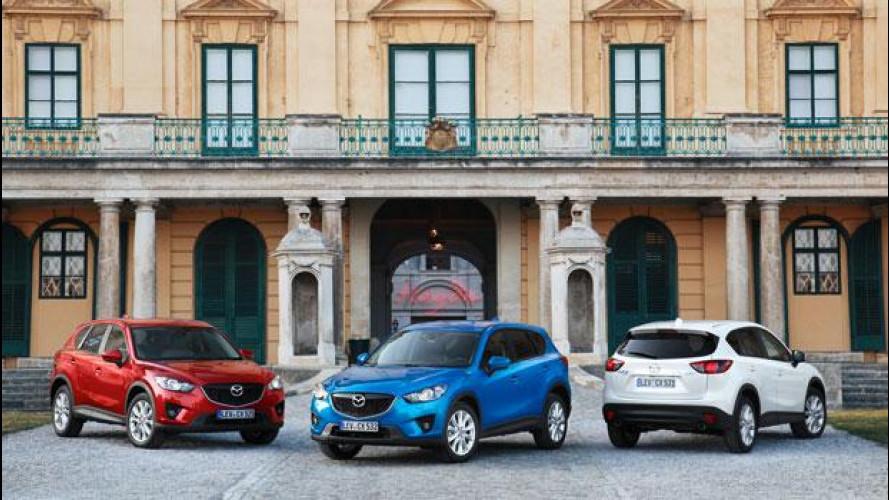 Mazda CX-5, prezzi da 22.900 euro