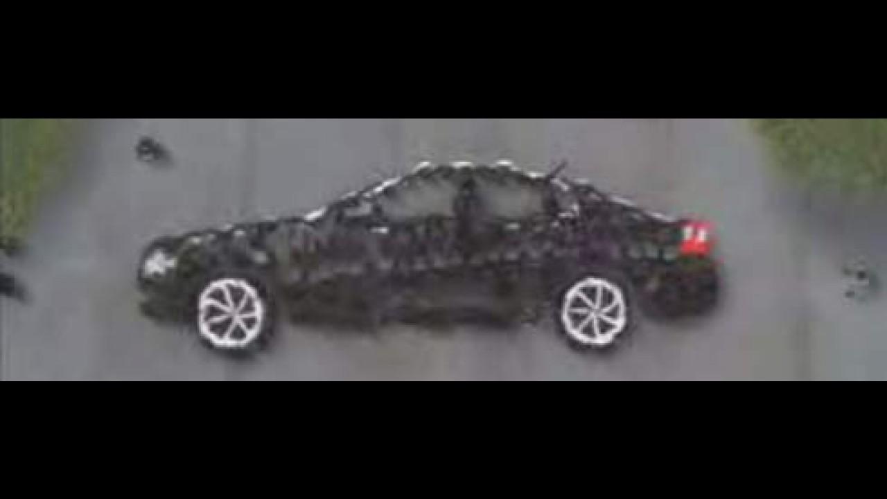 Chevrolet Omega 2008 - Vídeo de lançamento traz pessoas formando o carro