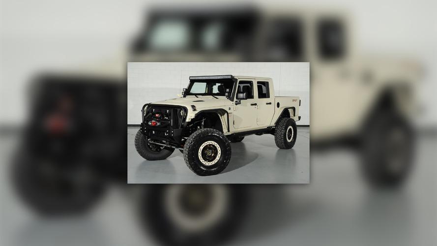 2012 Jeep Wrangler Bandit Supercharged Hemi Pickup