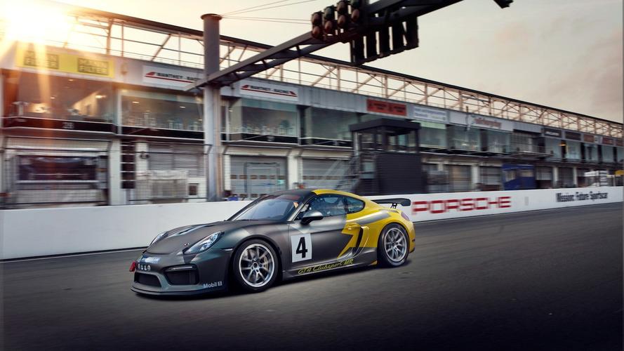 Porsche Cayman GT4 Clubsport by Manthey-Racing