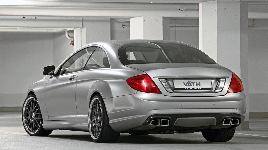 VÄTH tunes the Mercedes CL63 AMG