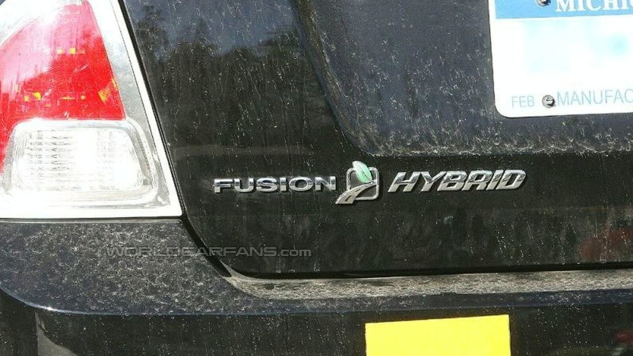 Ford Fusion Hybrid Spy Photos