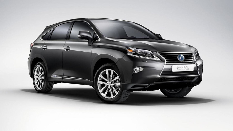 2016 Lexus RX slated for a Detroit debut