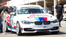 BMW 335i race car in South Africa 23.03.2012