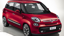 Fiat 500L, 500L Trekking and 500L Living gain a new 1.4-liter Turbo T-Jet engine with 120 HP