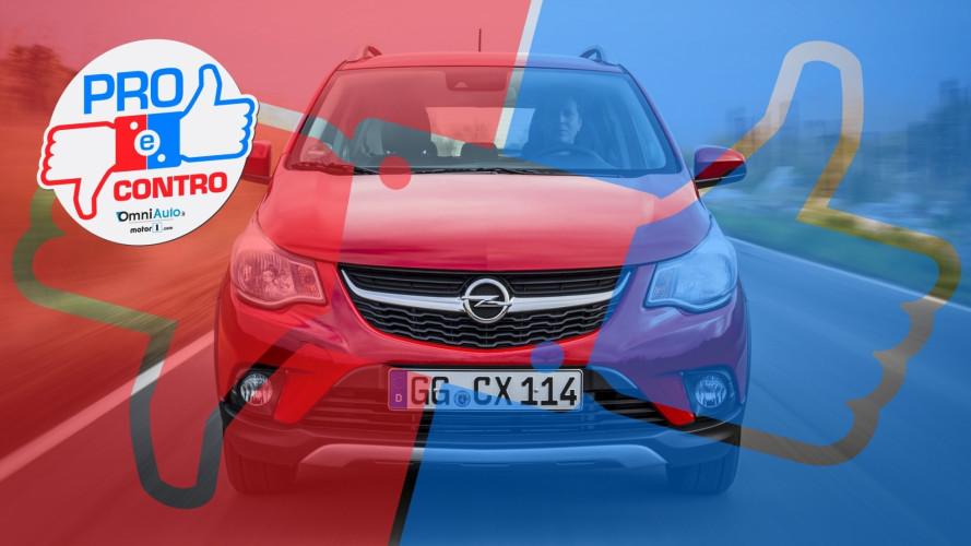 Opel Karl Rocks 1.0 GPL, Pro & Contro