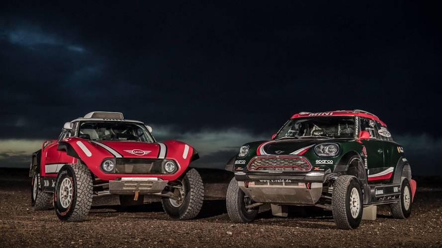 Mini To Battle 2018 Dakar With Rally Car And Buggy