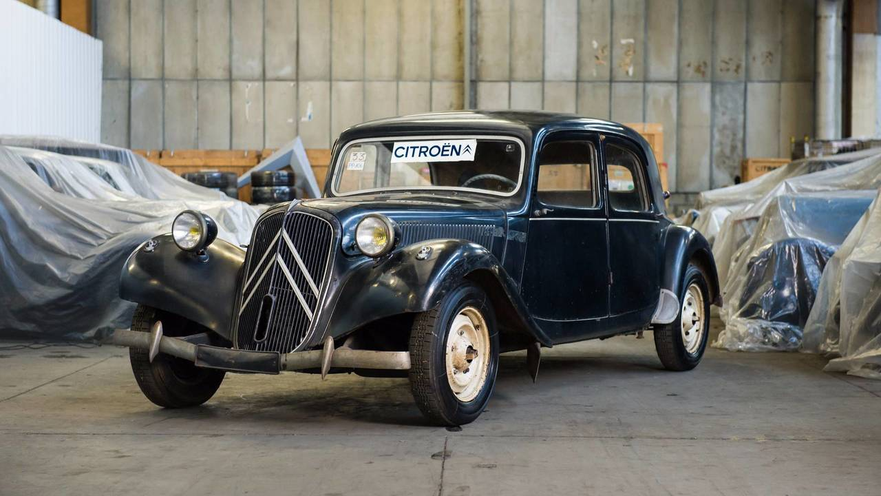 1953 Citroën Traction Avant 11 B Laboratory Vehicle