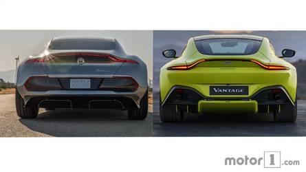 Pourquoi l'Aston Martin Vantage ressemble à une Fisker eMotion ?