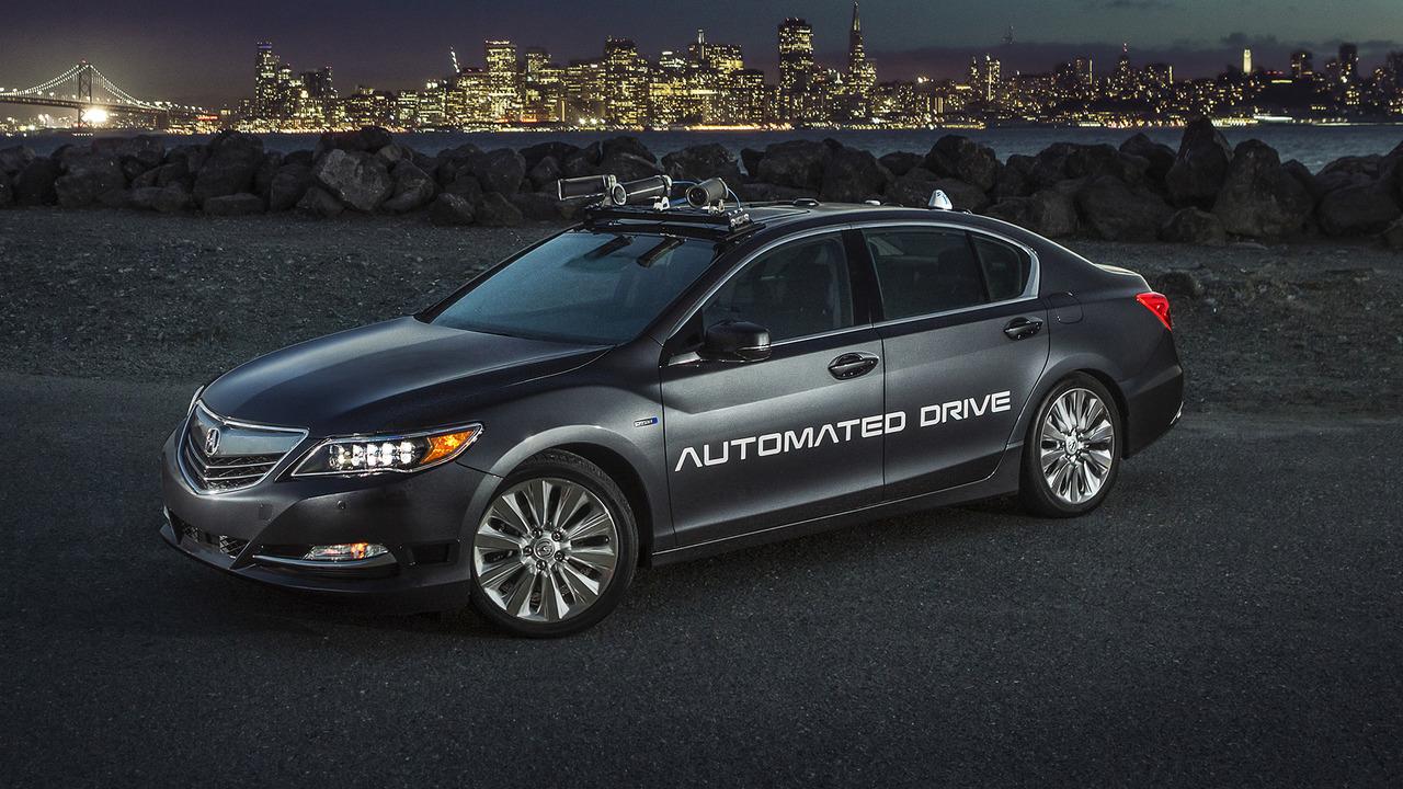 Acura RLX second-generation autonomous prototype