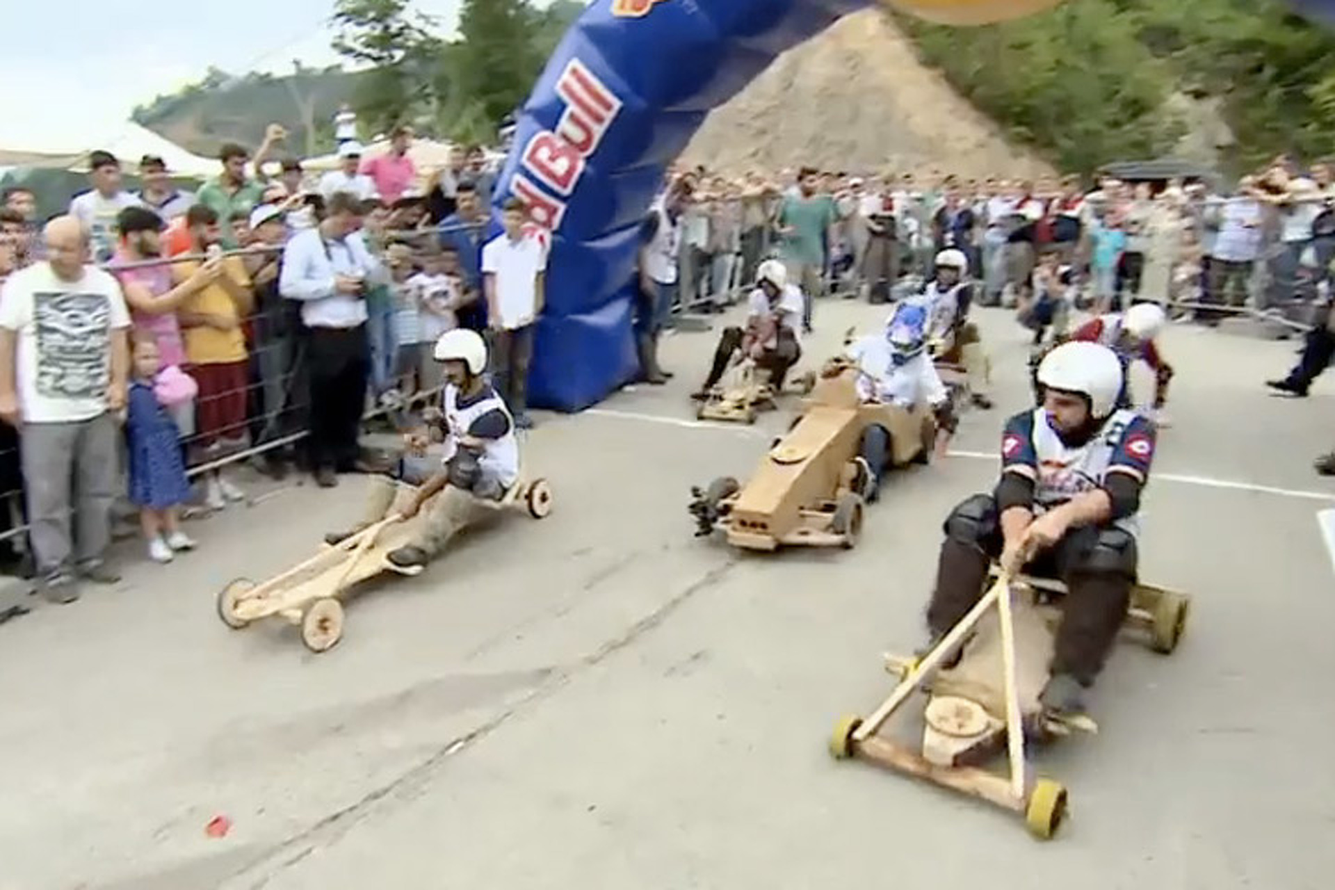 Red Bull Sponsors Soap Box Racing, and It's Awesome [Video]