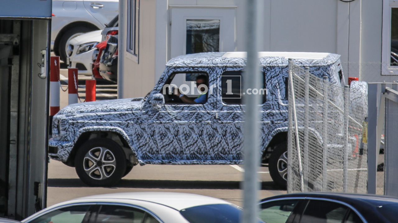 2017 Mercedes-Benz G-Class spy photo