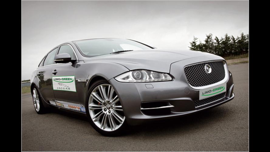 Jaguar zeigt Premium-Hybridstudie