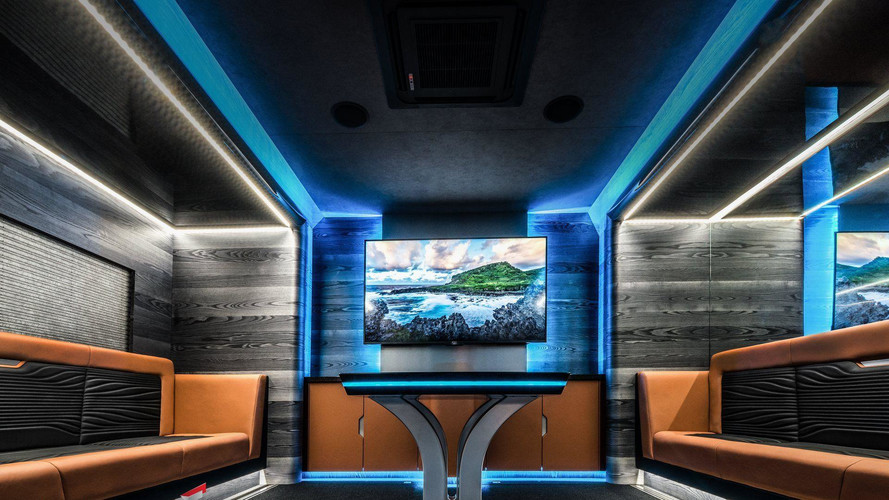 Carlex Goes Nuts On Custom Motorsports Trailer Interior