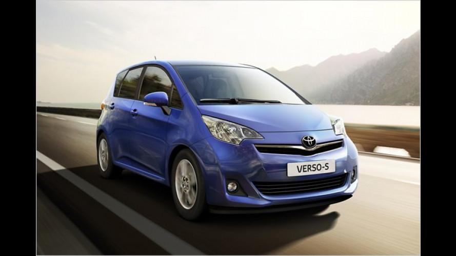 Toyota Verso-S: Neuer Minivan startet im März 2011