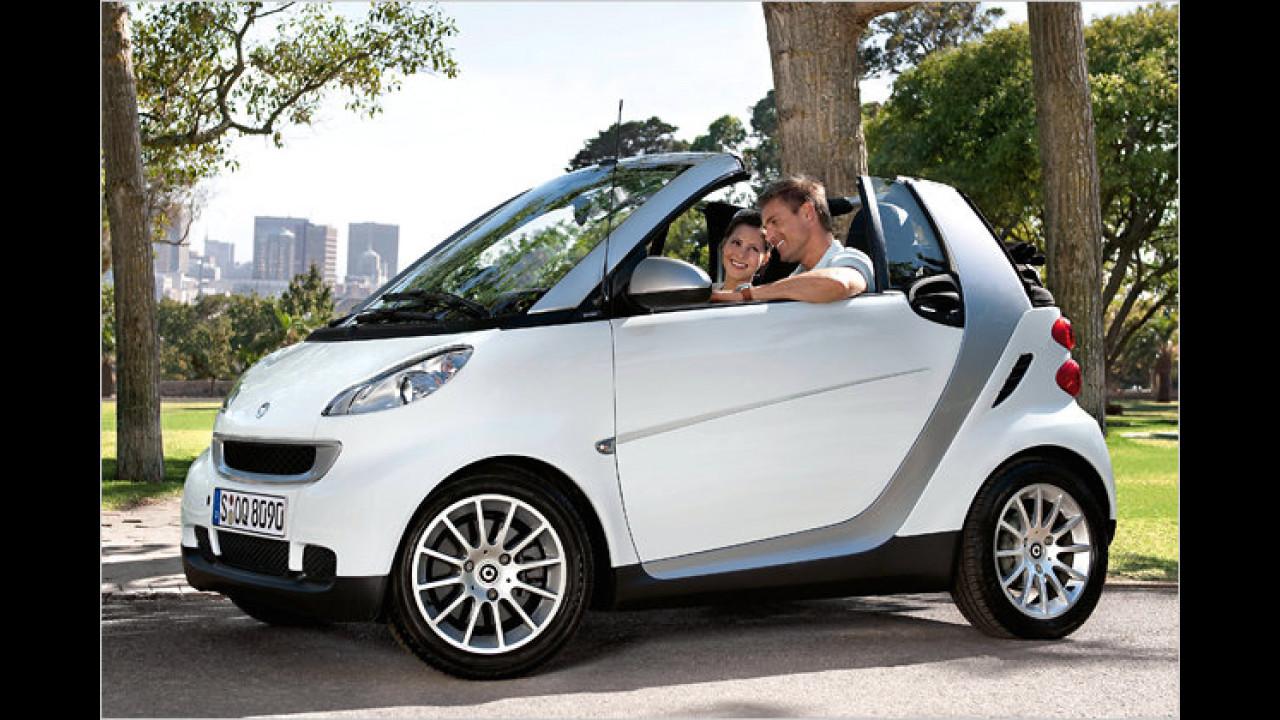 smart fortwo cabrio 0.8 cdi pure softip DPF