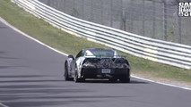 2018 Chevy Corvette ZR1 screenshot from spy video