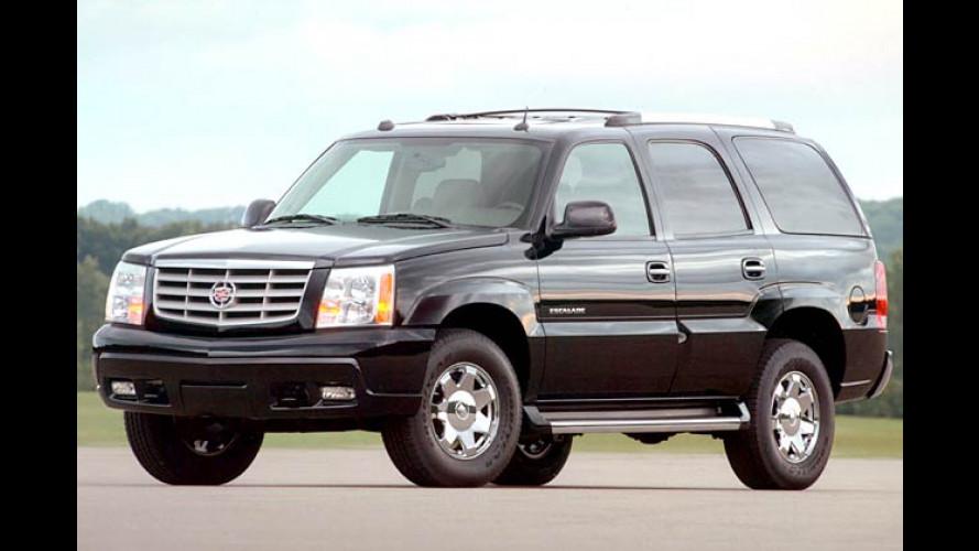 Cadillac Escalade: Siebensitziger Nobel-Jumbo fürs Gelände