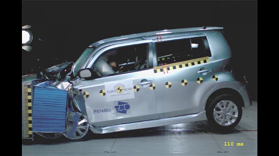 EuroNCAP stellt sechs neue Fahrzeuge auf den Prüfstand