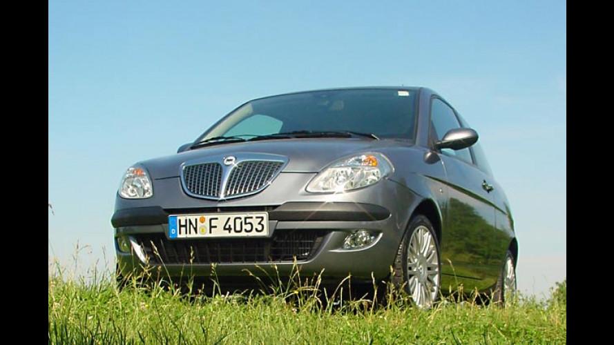 Lancia Ypsilon: Edles Design und Euro-4-Diesel