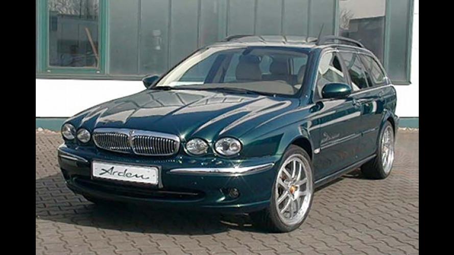 Katzen-Kombi Jaguar X-Type Diesel wird jetzt richtig rassig