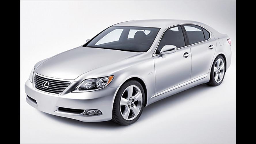Der Dritte im Bunde: Lexus bringt den LS mit Hybridantrieb