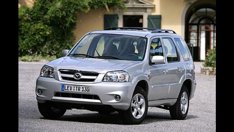 Mazda Tribute: Facelift, neuer Motor und Allradantrieb für alle