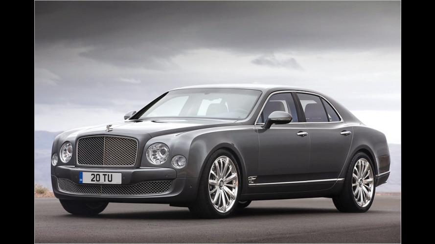 Mulliner Driving Specification für den Bentley Mulsanne