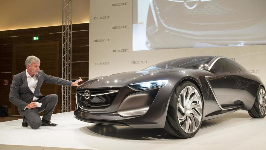 Opel Monza concept shown in the metal at IAA