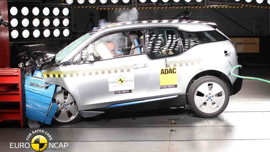 BMW i3 gets only a four star rating in Euro NCAP crash tests [videos]