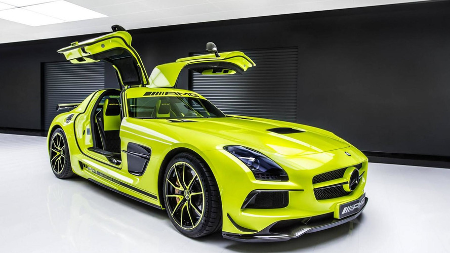 Mercedes SLS AMG Black Series gets the bespoke treatment by the AMG Performance Studio