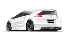 Honda CR-Z MUGEN preview design sketches 17.03.2011
