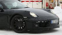 2011 Porsche 991 winter test spy photos - 26.01.2010