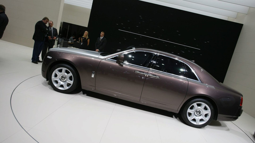 Rolls Royce Ghost Displays Its Physique at Frankfurt