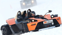 KTM X-Bow in Winter