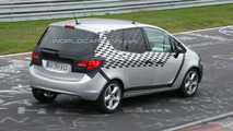 2010 Opel Meriva spy photo, Nurburgring
