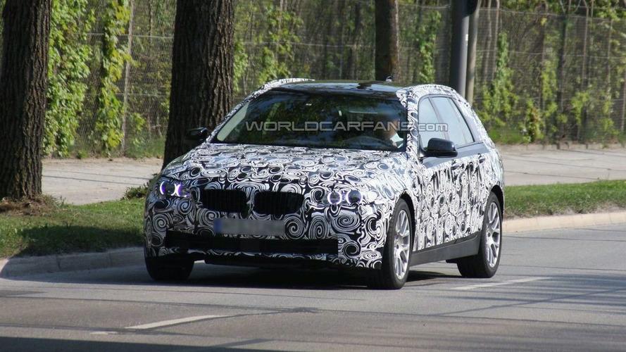 BMW 5-Series Touring Latest Spy Photos