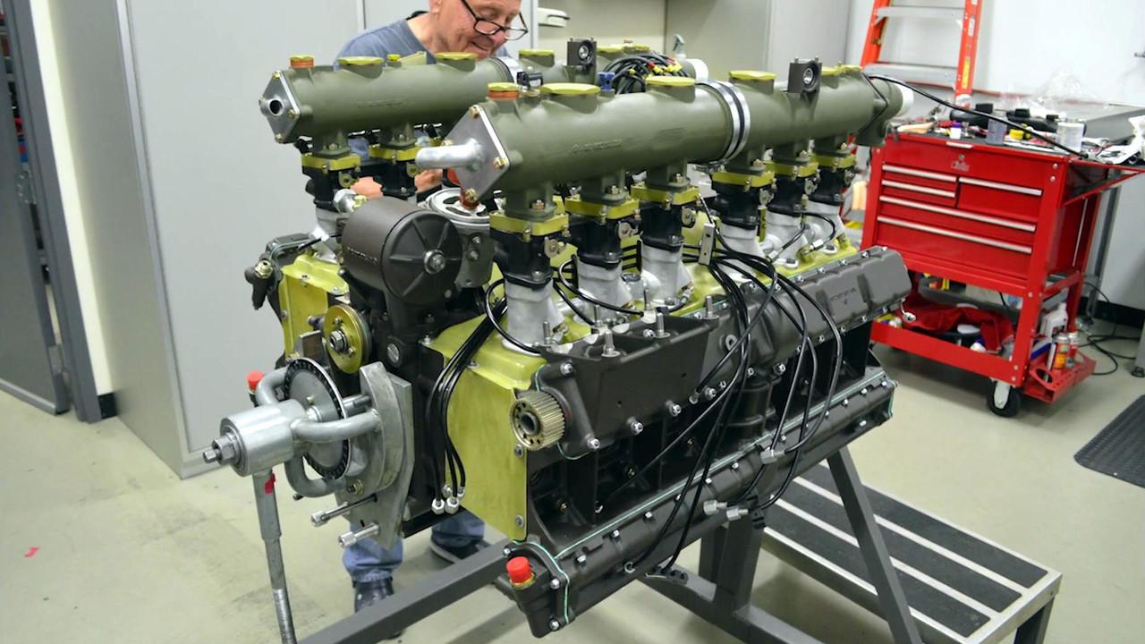 Watch A Porsche 917 Flat 12 Engine Rebuilt In 3 Minutes