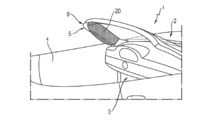 Porsche A-Pillar Airbag Patent
