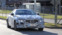 Mercedes E-Class Coupe spy photo