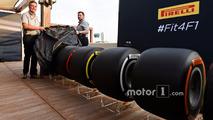 Pirelli 2017 F1 tires test